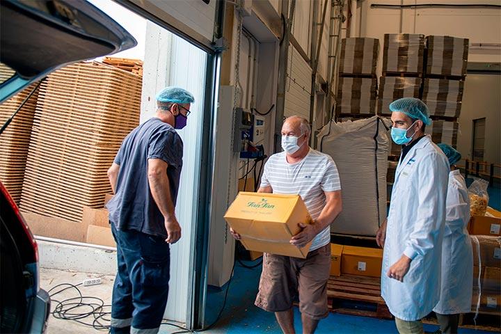 Donación Alimentos Juan Peregrín