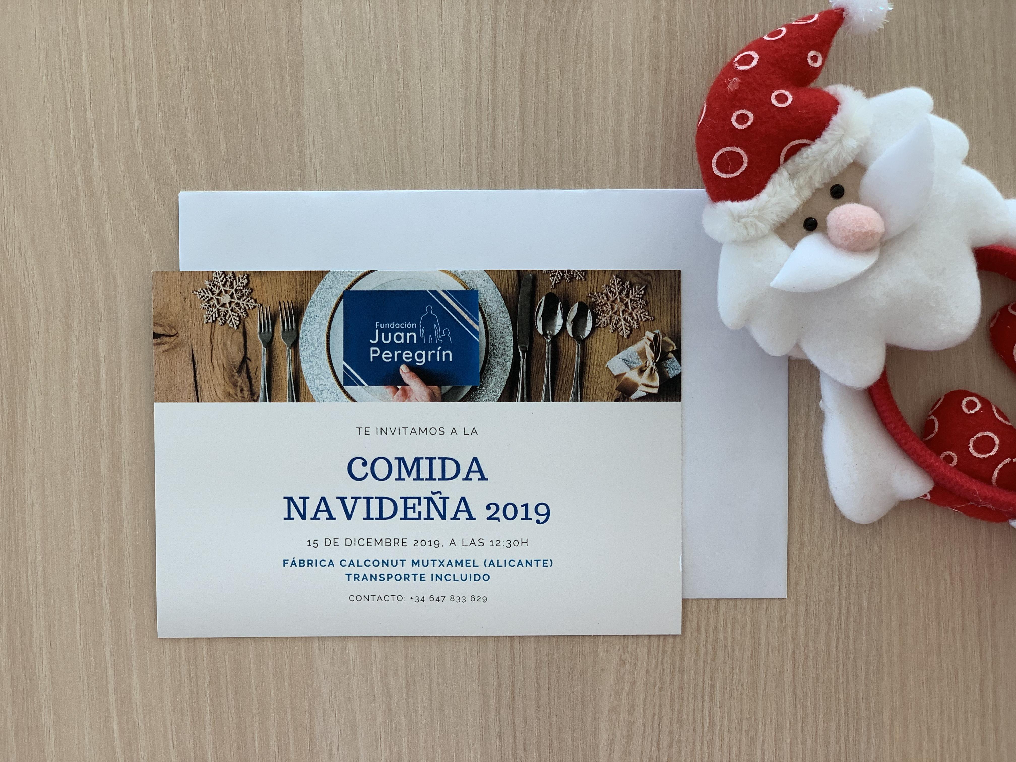 comida-de-navidad-repartir-invitaciones-fundacion